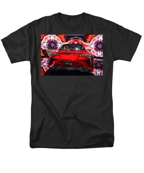 Red Velocity Men's T-Shirt  (Regular Fit) by Randy J Heath