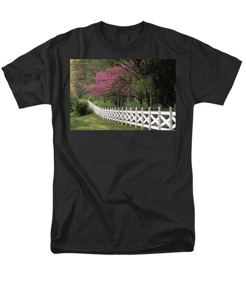Redbud - Fs000814 Men's T-Shirt  (Regular Fit) by Daniel Dempster
