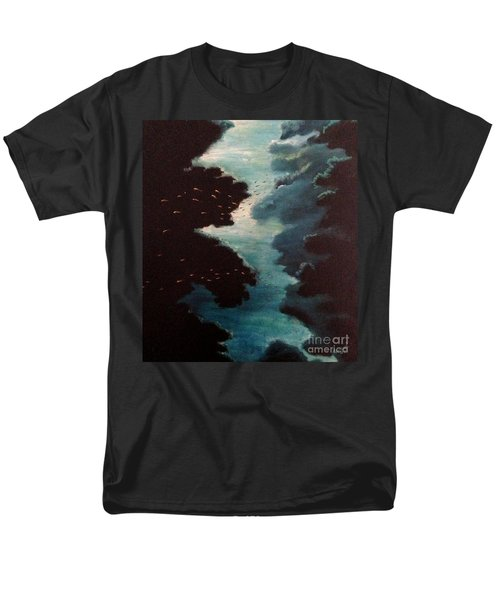 Reef Pohnpei Men's T-Shirt  (Regular Fit) by Karen  Ferrand Carroll