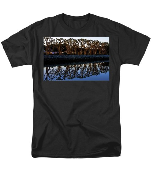 Men's T-Shirt  (Regular Fit) featuring the photograph Reflections In First Light by Gary Holmes