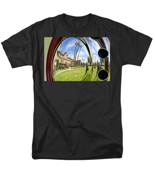 Men's T-Shirt  (Regular Fit) featuring the pyrography Reflections Of A 1937 Cord by Shoal Hollingsworth