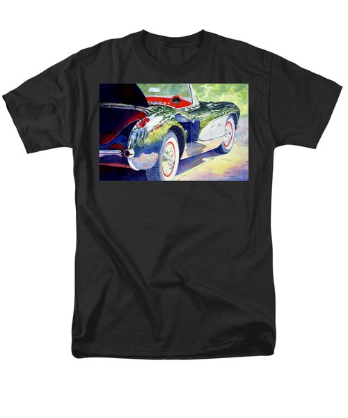 Reflections On A Corvette Men's T-Shirt  (Regular Fit) by Roger Rockefeller