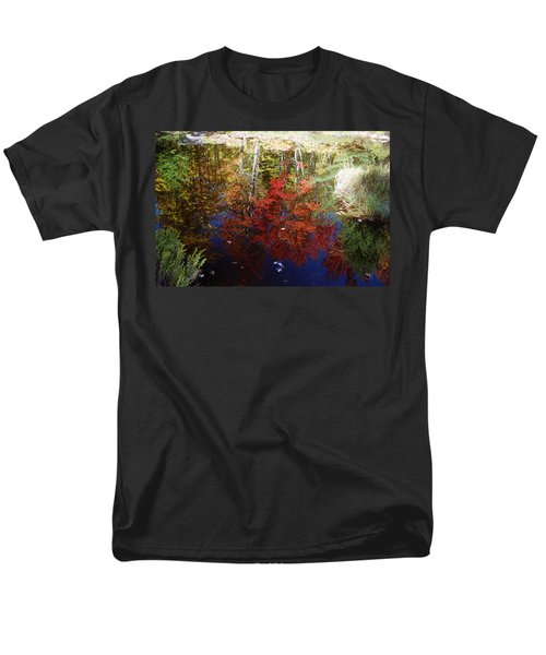 Men's T-Shirt  (Regular Fit) featuring the photograph Reflections On Algonquin by David Porteus