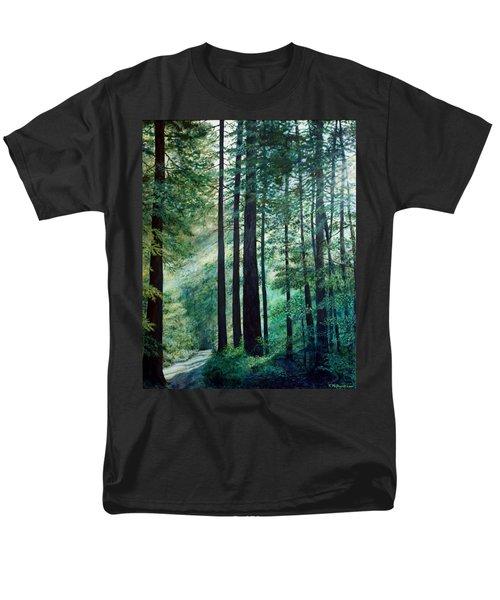 Men's T-Shirt  (Regular Fit) featuring the painting Refuge by Kathleen McDermott