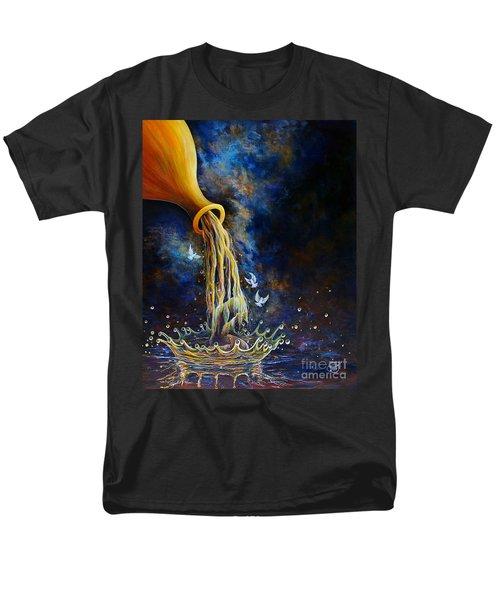Regeneration Men's T-Shirt  (Regular Fit) by Nancy Cupp