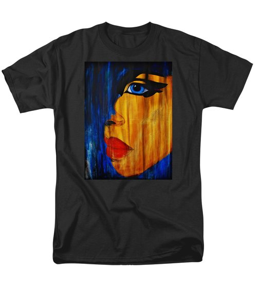 Men's T-Shirt  (Regular Fit) featuring the painting Reign Over Me 3 by Michael Cross