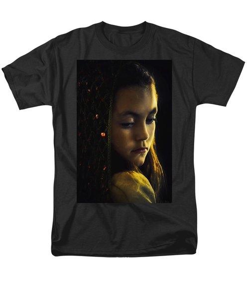 Men's T-Shirt  (Regular Fit) featuring the photograph Remembering by John Rivera