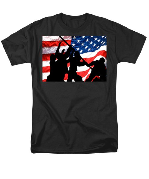 Remembering World War II Men's T-Shirt  (Regular Fit) by Bob Orsillo