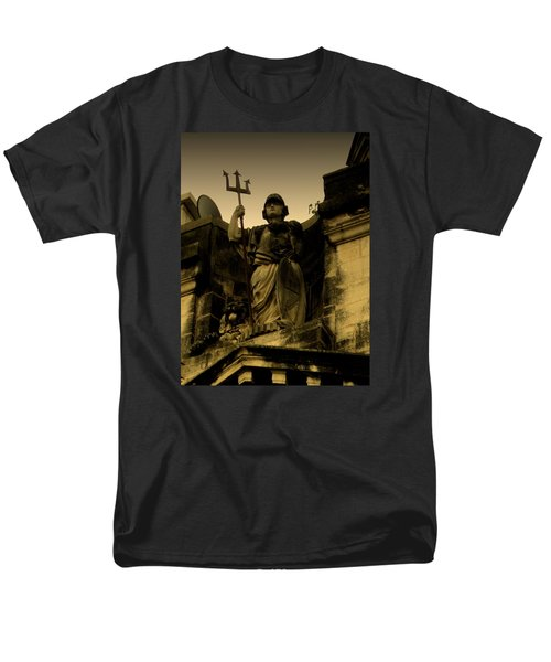 Men's T-Shirt  (Regular Fit) featuring the photograph Trident To The Sky by Salman Ravish