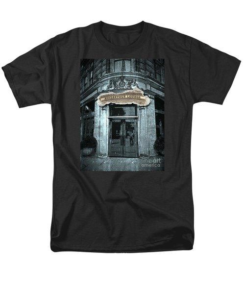 Men's T-Shirt  (Regular Fit) featuring the photograph Rendezvous Lounge - Lancaster Pa. by Joseph J Stevens