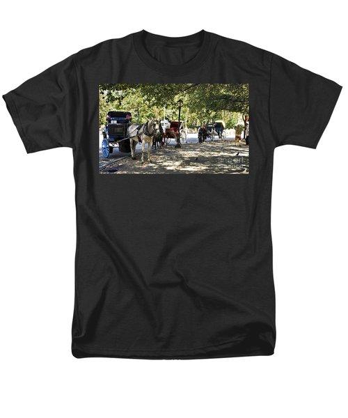 Rest Stop - Central Park Men's T-Shirt  (Regular Fit) by Madeline Ellis