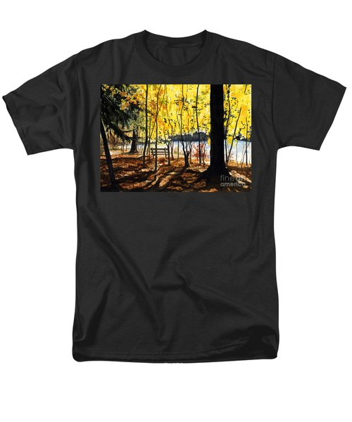 Resting Place Men's T-Shirt  (Regular Fit) by Barbara Jewell