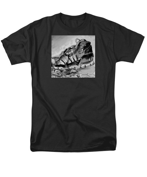 Men's T-Shirt  (Regular Fit) featuring the painting Retro Adidas by Jeffrey S Perrine