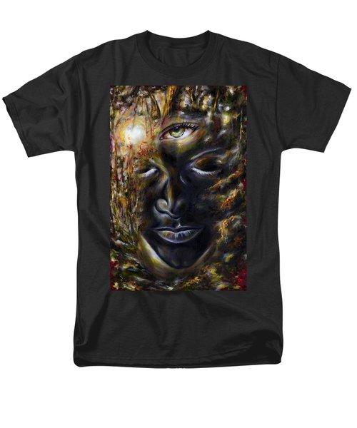 Men's T-Shirt  (Regular Fit) featuring the painting Revelation by Hiroko Sakai