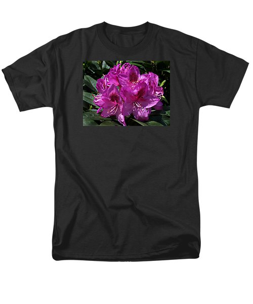 Men's T-Shirt  (Regular Fit) featuring the photograph Rhododendron ' Anah Kruschke ' by William Tanneberger