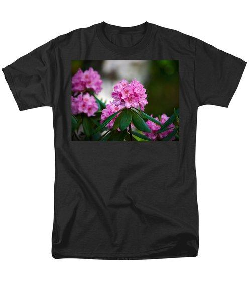 Rhododendron Men's T-Shirt  (Regular Fit) by Jouko Lehto