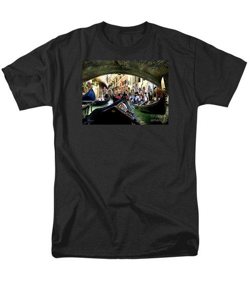 Men's T-Shirt  (Regular Fit) featuring the photograph Rhythm Of Venice by Jennie Breeze