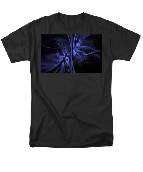 Men's T-Shirt  (Regular Fit) featuring the digital art Ribbons Of Time by GJ Blackman