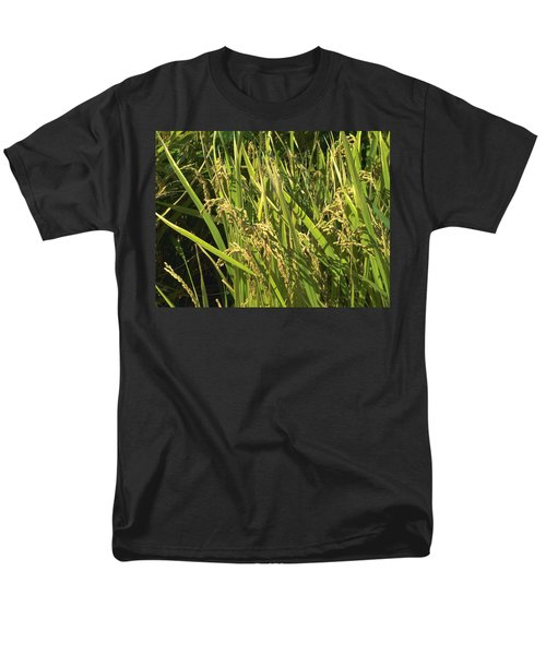 Men's T-Shirt  (Regular Fit) featuring the photograph Rice by Rachel Mirror