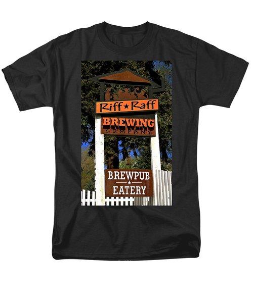 Riff Raff Brewing Men's T-Shirt  (Regular Fit) by Jeff Gater
