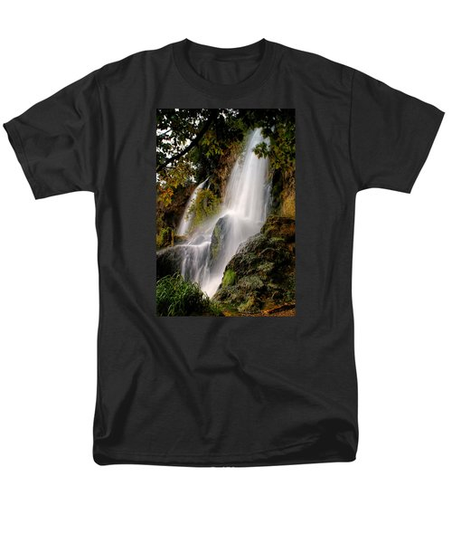 Men's T-Shirt  (Regular Fit) featuring the photograph Rifle Falls by Priscilla Burgers