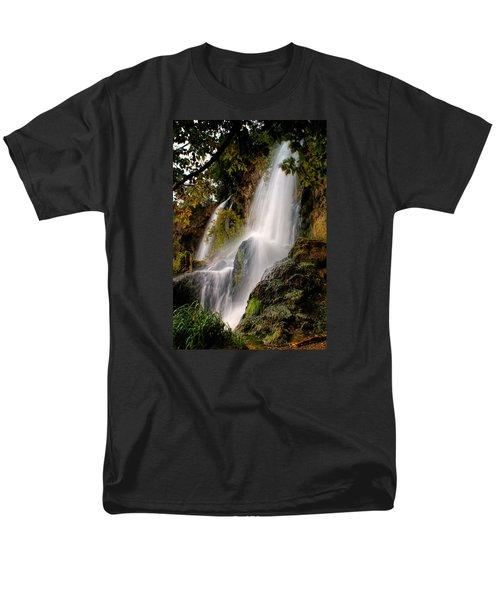 Rifle Falls Men's T-Shirt  (Regular Fit) by Priscilla Burgers