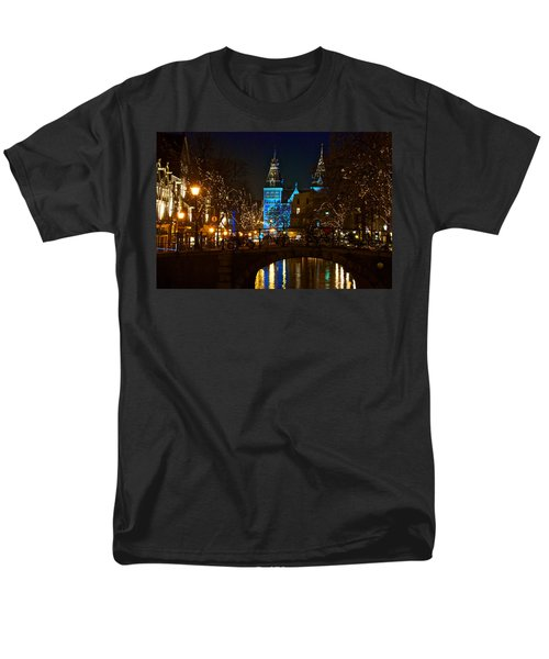 Men's T-Shirt  (Regular Fit) featuring the photograph Rijksmuseum At Night by Jonah  Anderson