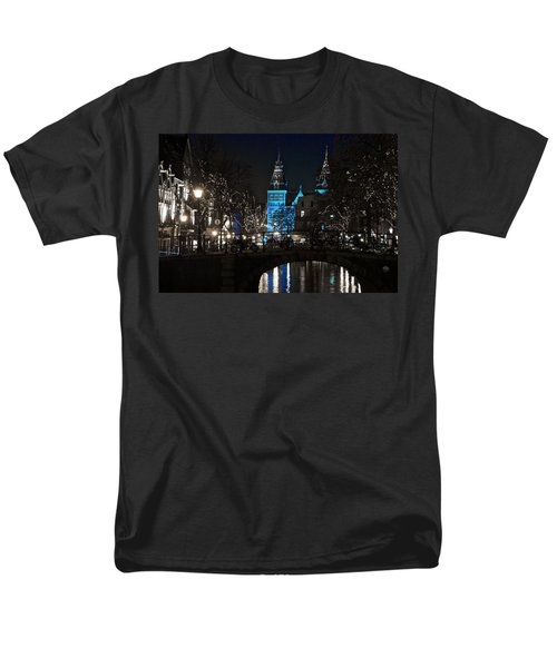 Rijksmuseum In Blue Men's T-Shirt  (Regular Fit) by Jonah  Anderson