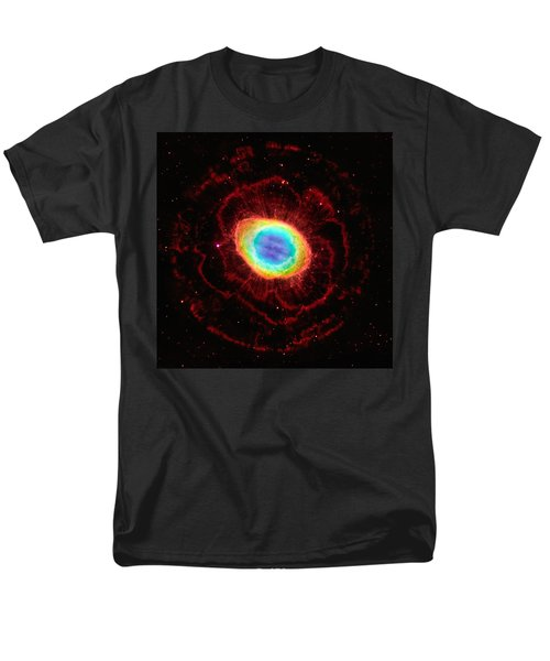 Ring Nebula's True Shape Men's T-Shirt  (Regular Fit) by Marco Oliveira