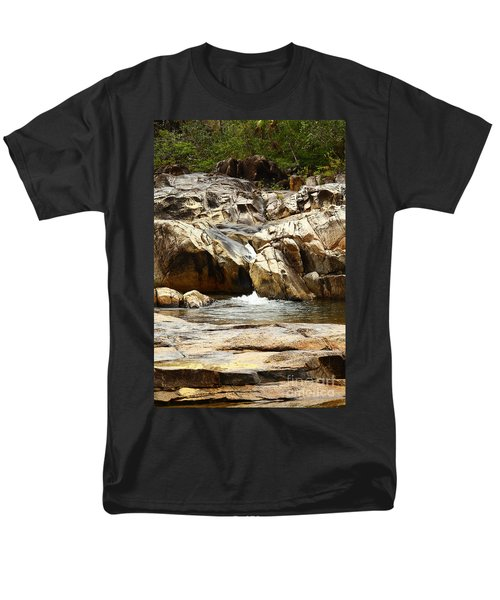 Rio On Pools Men's T-Shirt  (Regular Fit) by Kathy McClure