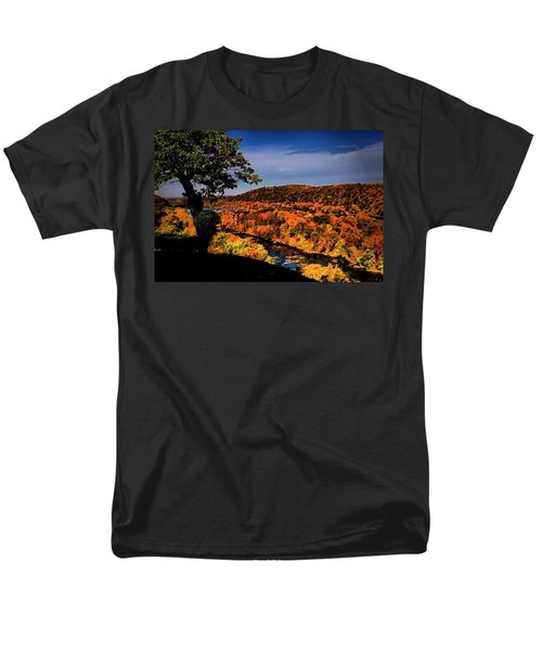 Men's T-Shirt  (Regular Fit) featuring the photograph Rise And Look Around You by Robert McCubbin