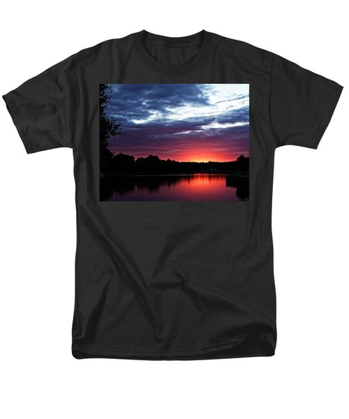 River Glow Men's T-Shirt  (Regular Fit) by Dave Files