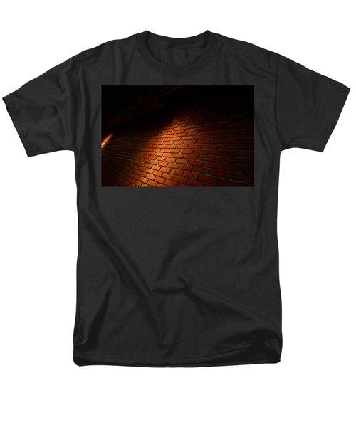 River Walk Brick Wall Men's T-Shirt  (Regular Fit) by Shawn Marlow