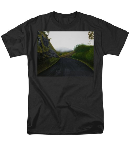Road Near Gresford Nsw Men's T-Shirt  (Regular Fit) by Tim Mullaney