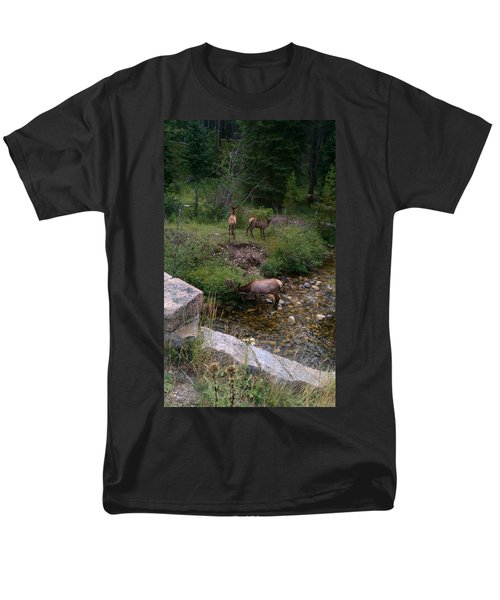 Roadside Luncheon Men's T-Shirt  (Regular Fit) by Fortunate Findings Shirley Dickerson