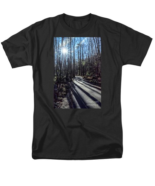 Men's T-Shirt  (Regular Fit) featuring the photograph Roaring Fork Road by Debbie Green