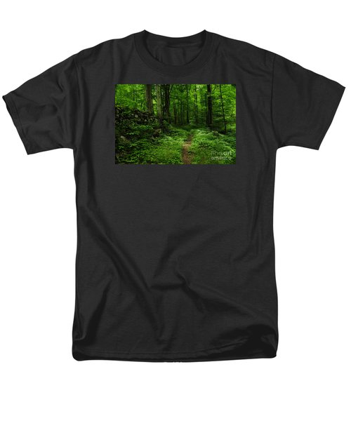 Men's T-Shirt  (Regular Fit) featuring the photograph Roaring Fork Trail by Debbie Green
