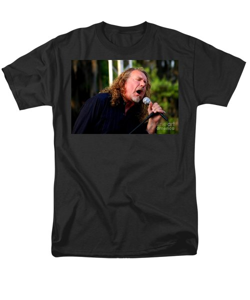 Robert Plant 2 Men's T-Shirt  (Regular Fit) by Angela Murray