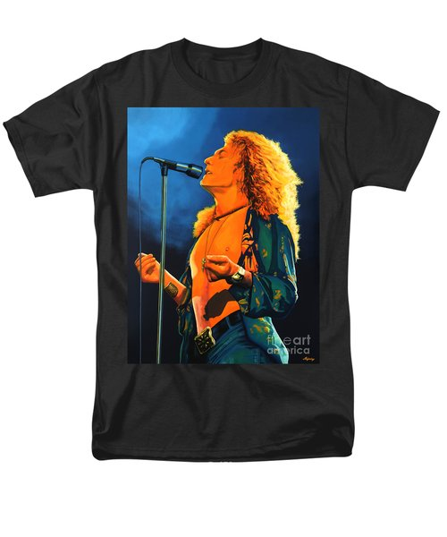 Robert Plant Men's T-Shirt  (Regular Fit) by Paul Meijering