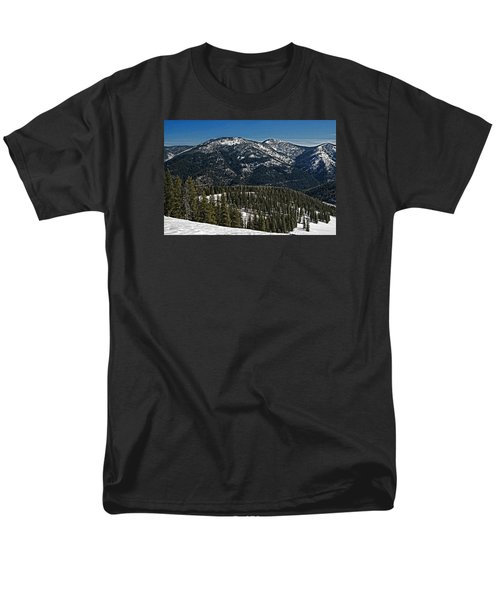 Men's T-Shirt  (Regular Fit) featuring the photograph Rocky Mountain Top by Andy Crawford