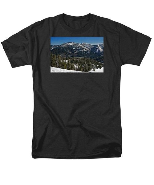Rocky Mountain Top Men's T-Shirt  (Regular Fit)