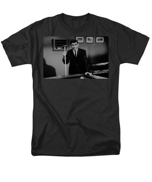 Rod Serling Men's T-Shirt  (Regular Fit) by Rob Hans