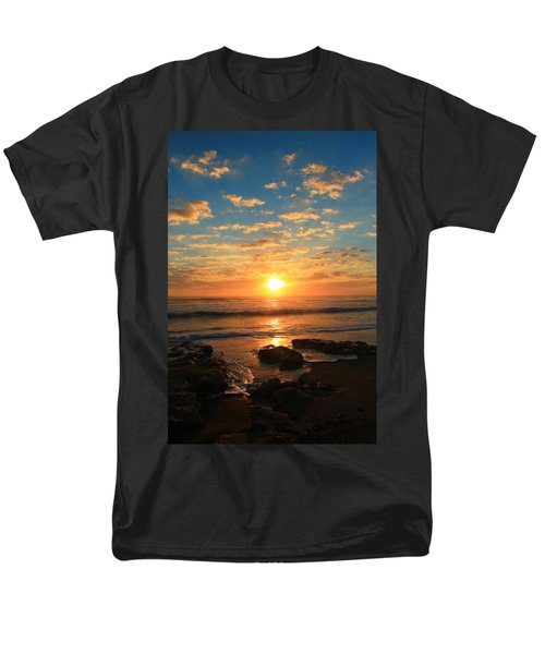 Rolling Over Rocks Men's T-Shirt  (Regular Fit) by Catie Canetti