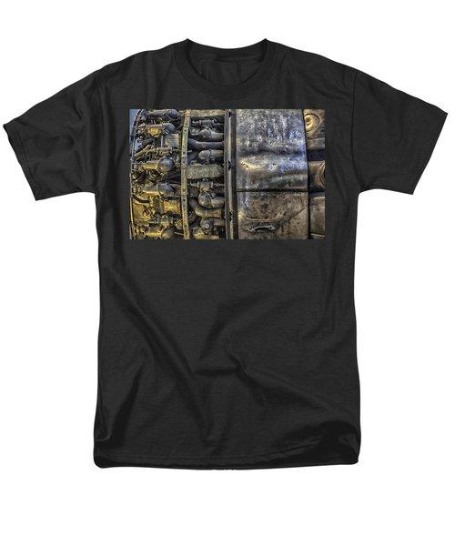Rolls-royce Dart Turboprop Detail Men's T-Shirt  (Regular Fit) by Lynn Palmer