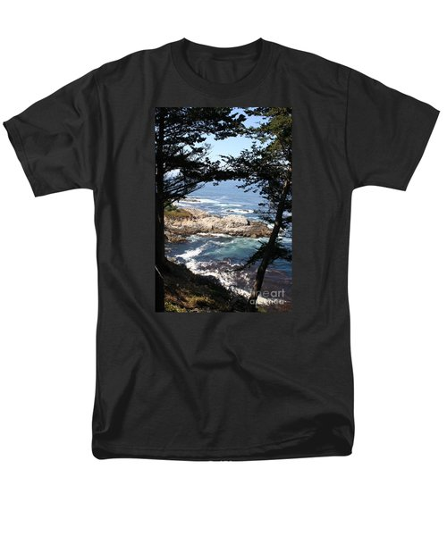 Romantic California Coast Men's T-Shirt  (Regular Fit) by Christiane Schulze Art And Photography