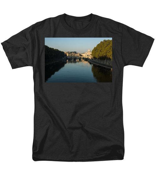Men's T-Shirt  (Regular Fit) featuring the photograph Rome Waking Up by Georgia Mizuleva