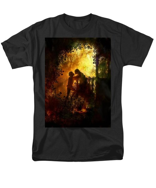 Romeo And Juliet - The Love Story Men's T-Shirt  (Regular Fit) by Lilia D