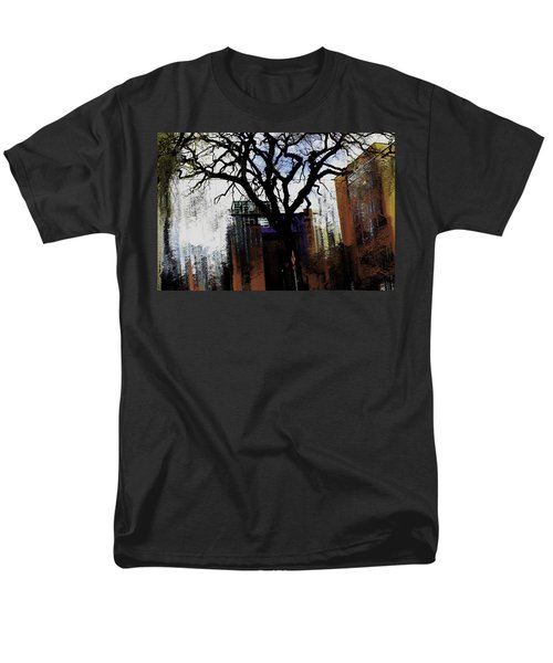 Rooted In The Unstable Men's T-Shirt  (Regular Fit) by Terence Morrissey