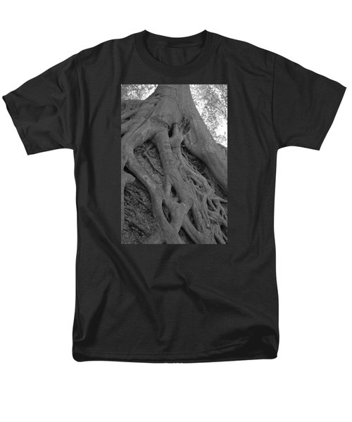Roots II Men's T-Shirt  (Regular Fit) by Suzanne Gaff
