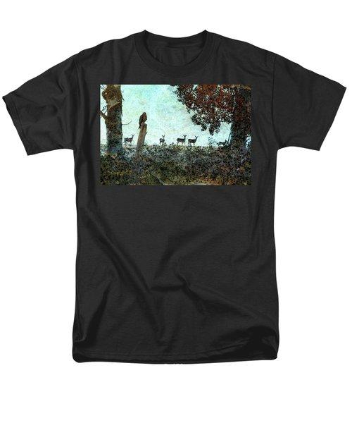 Rose Hill - Autumn Men's T-Shirt  (Regular Fit) by Ed Hall